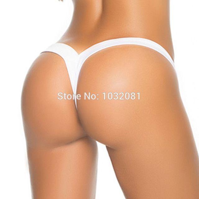 4fdc1969b78 2017 New V shape sexy thong Brazilian bikini bottom women swimwear swimsuit  trunk tanga micro briefs Panties Underwear V371