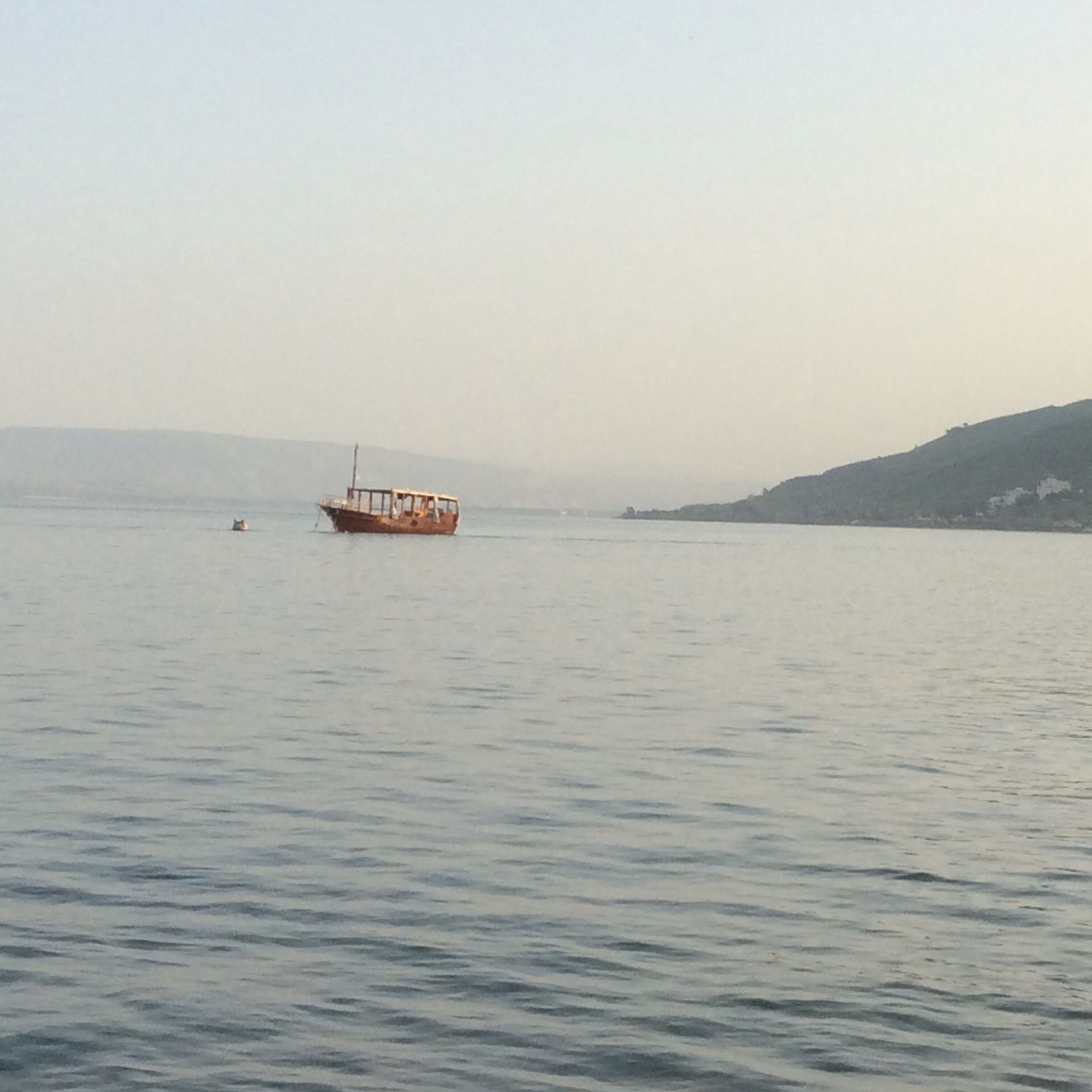 You will keep in perfect peace all who trust in you, all whose thoughts are fixed on you!  Isaiah 26:3 Sea of Galilee
