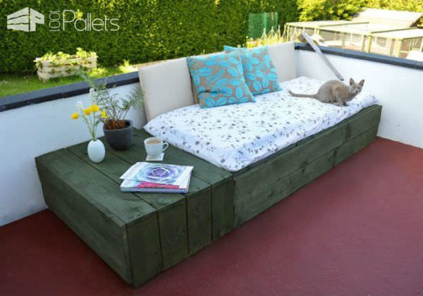 6 Trendy Furniture Ideas Made with Pallet Wood • 1001 Pallets
