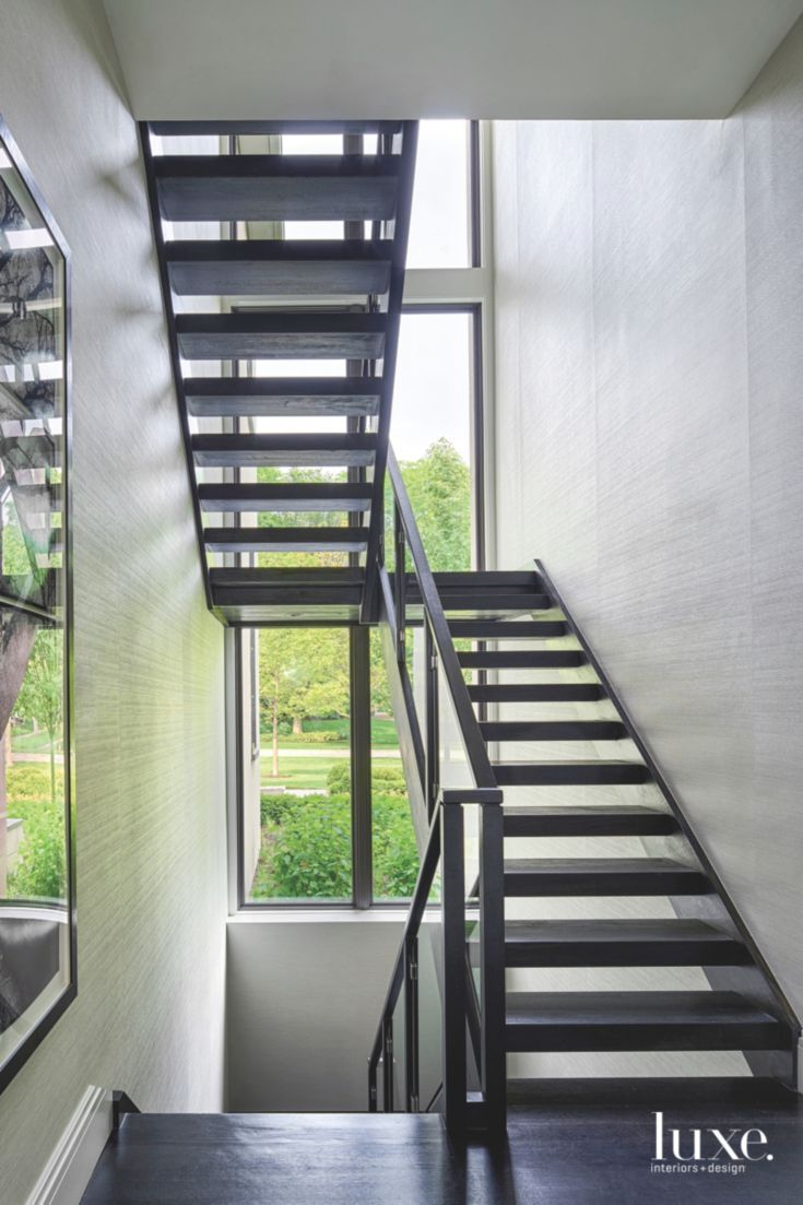 Best Simple And Contemporary Glass Stainless Steel And Oak Staircase Luxe Interiors Home 640 x 480