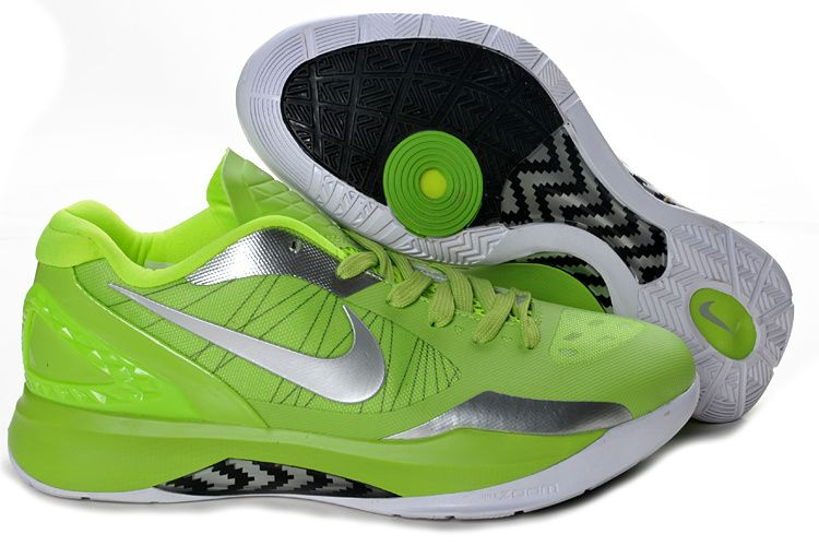 huge selection of 2806b 04bd0 Lime Green Hyperdunk 2011 Low Silver 487638 700 Hyper Shoes 2013