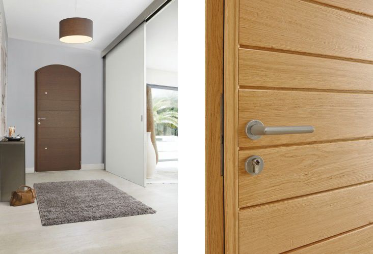 Choisir sa porte d\u0027entrée #BelM #entryway / Sur le blog La petite - choisir une porte d entree