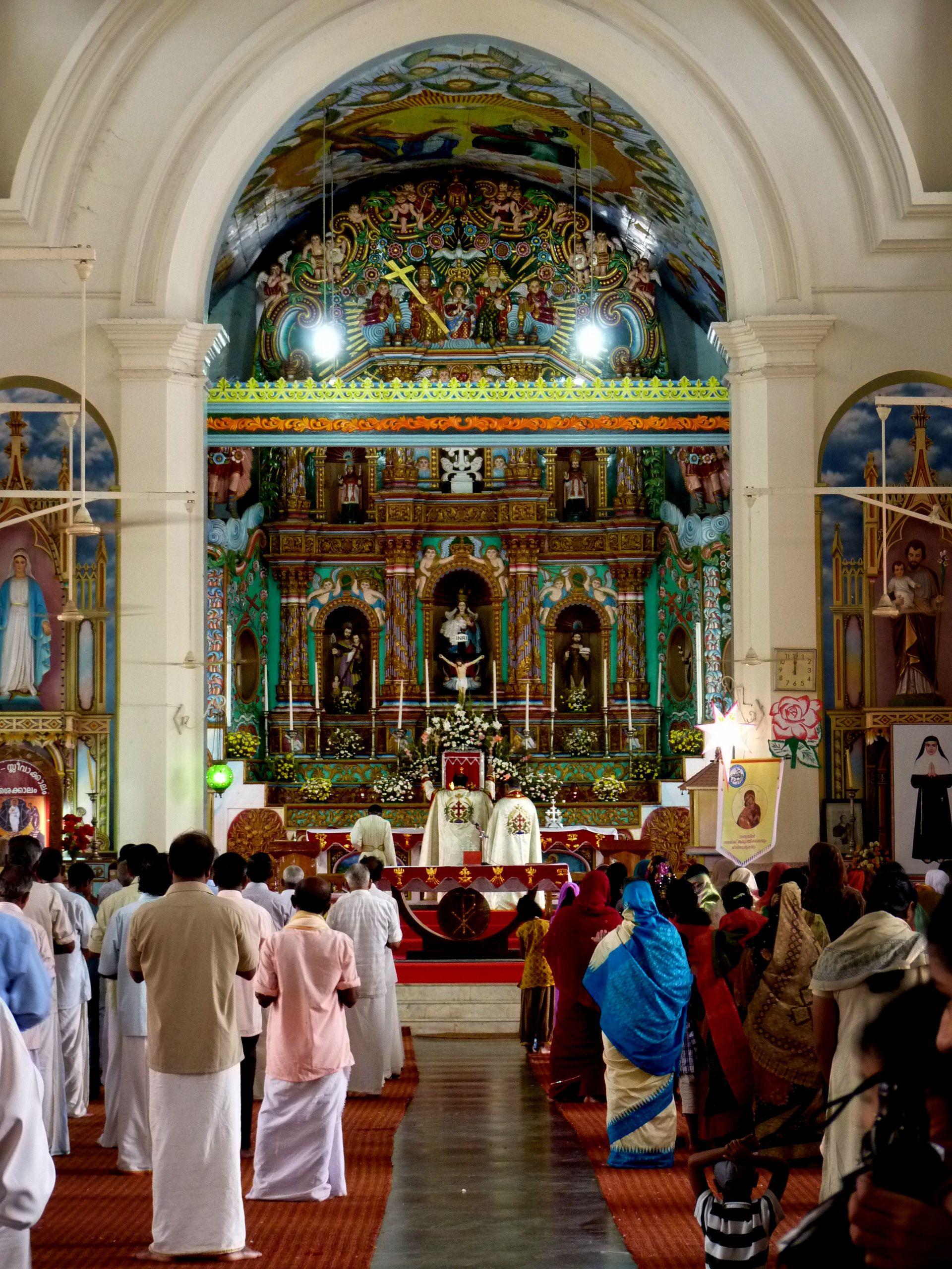 syro malabar holy mass in malayalam  catholic church