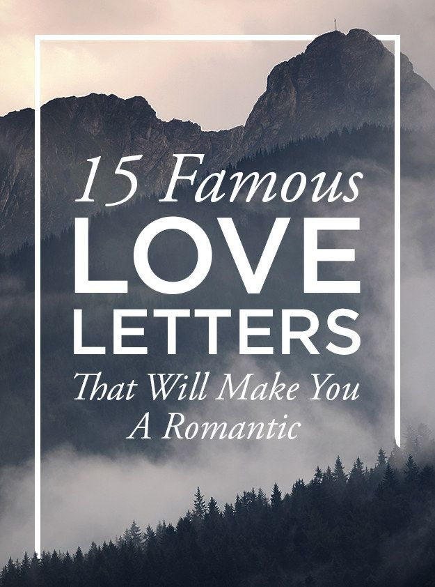 15 Famous Love Letters That Will Make You A Romantic  Romantic