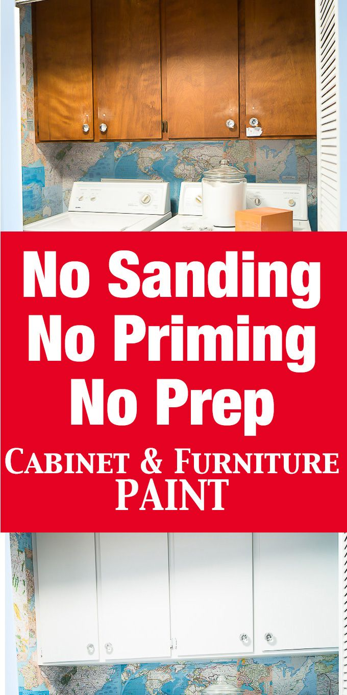 No Prep Needed Furniture And Cabinet Paint That Means No Sanding Or Priming Painting Cabinets Painting Bathroom Cabinets Repainting Cabinets