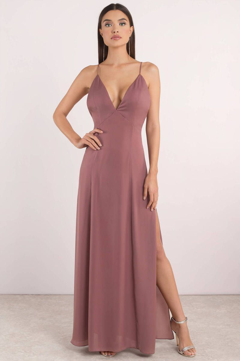 48033374a6f228 Naomi Low Back Maxi Dress in 2019 | Dress to BLESS | Dresses ...
