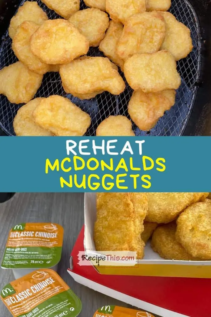 How To Reheat Mcdonalds Chicken Nuggets In Air Fryer Recipe In 2021 Air Fryer Recipes Chicken Mcdonalds Chicken Chicken Nuggets Mcdonalds