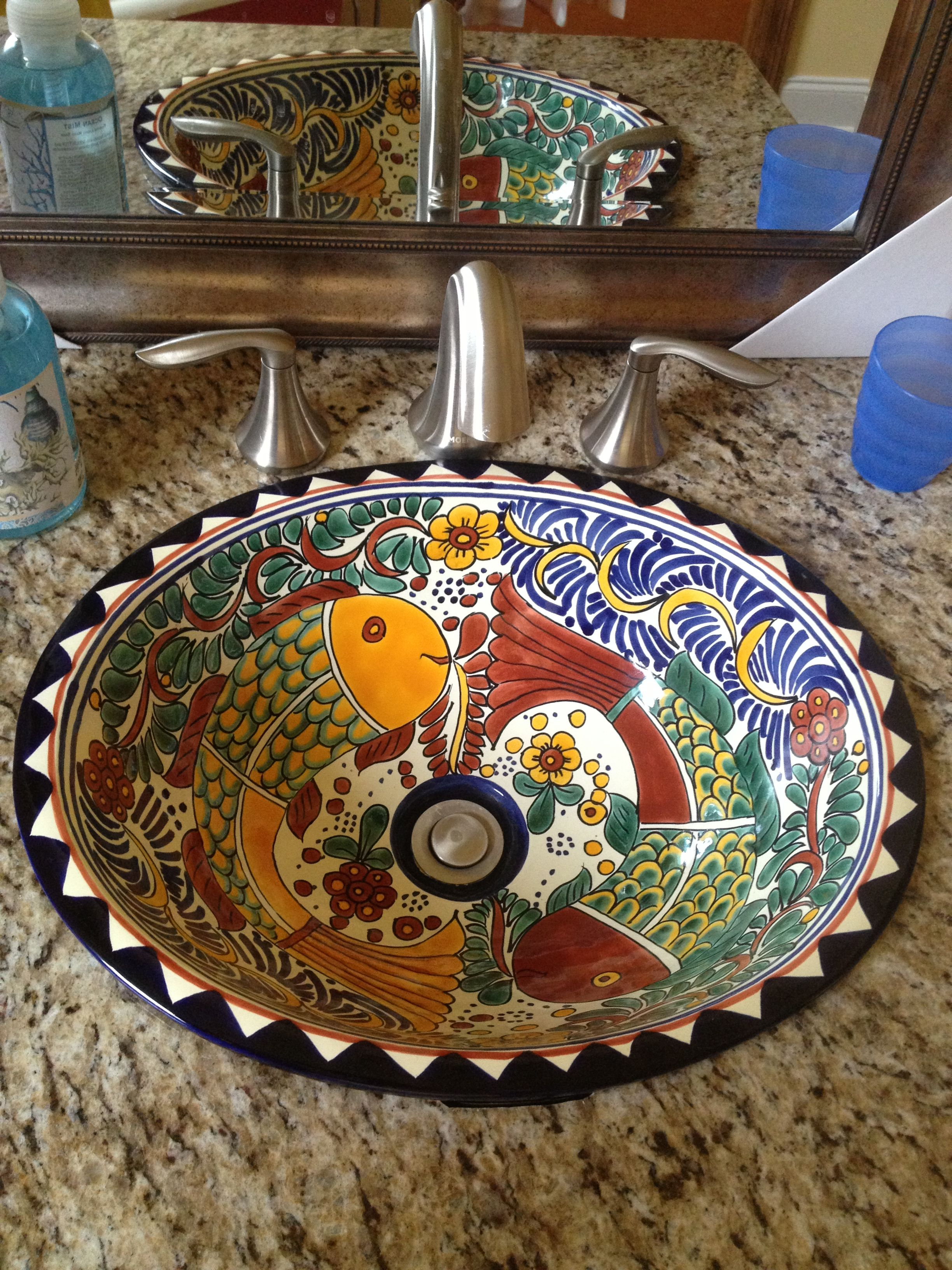 Mexican sinks bathroom - Finally I Found An Example Of What My Mexican Sink Might Be Installed In