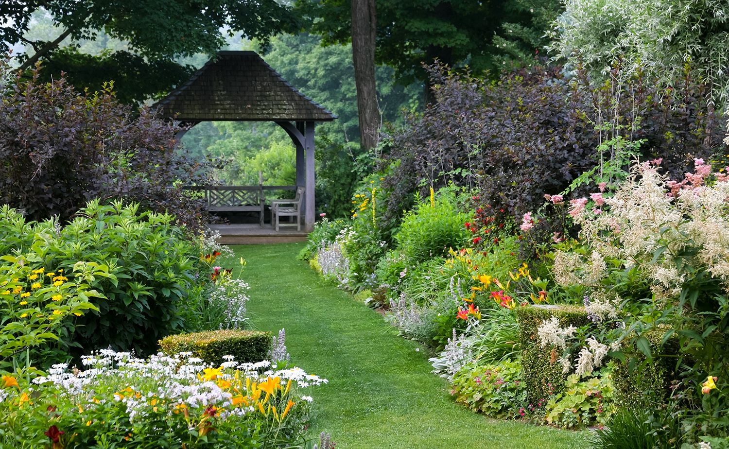 54 Elegant New England Flower Garden Ideas Garden design