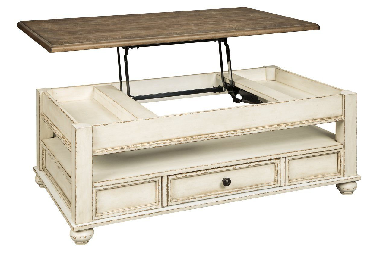 Realyn Coffee Table with Lift Top Ashley Furniture