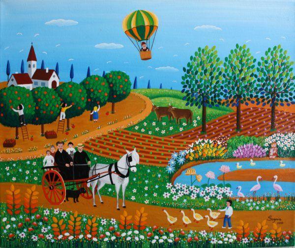 La magia de la pintura naïf: Centenario de Henri Rousseau   Arte ...