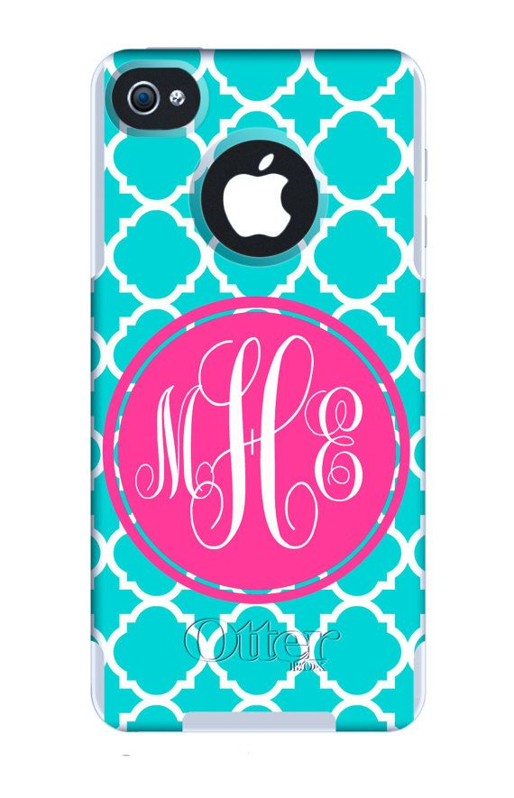 Otterbox Commuter Case Personalized/Monogrammed by BeachyMommas, $58.00