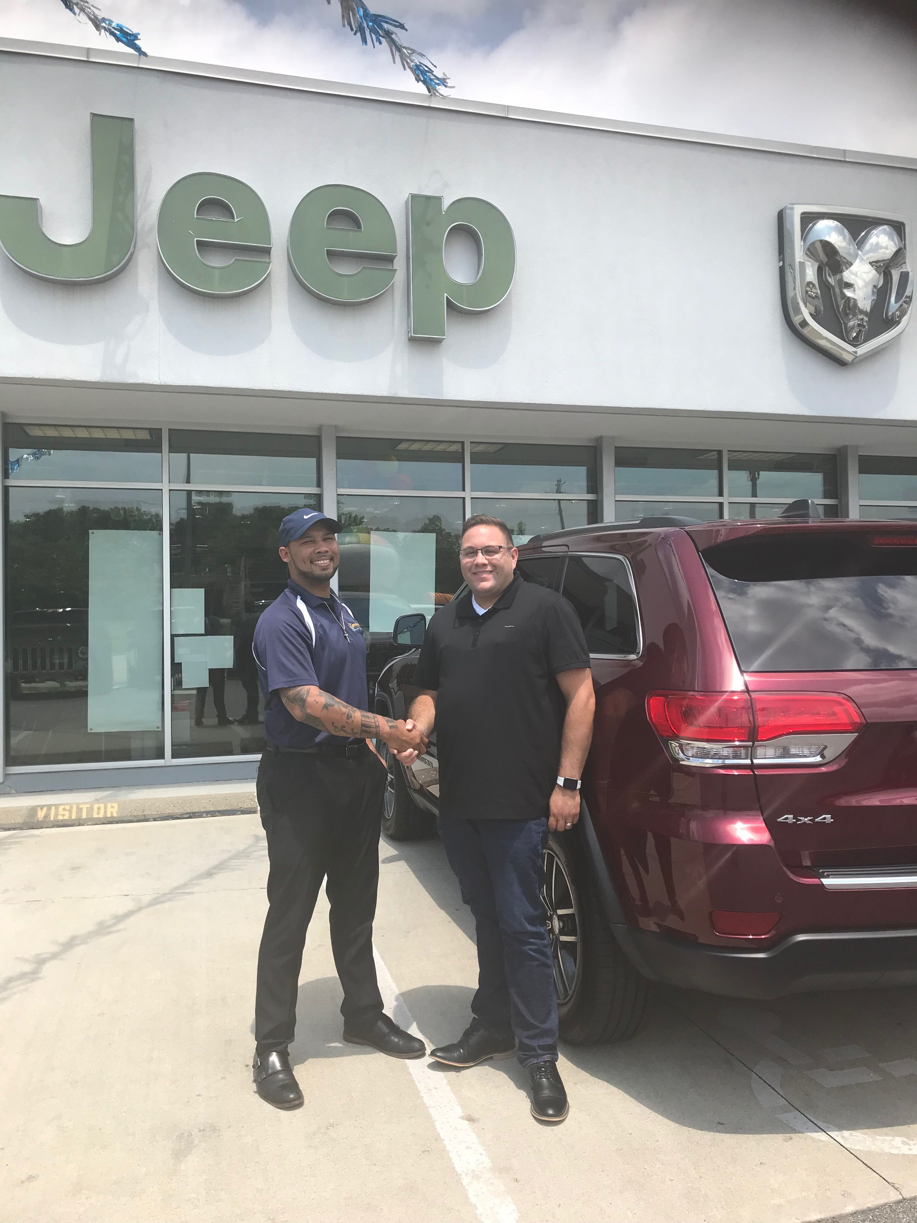 Brandon Willoughby Just Joined The Jeep Team He Came In And Spoke
