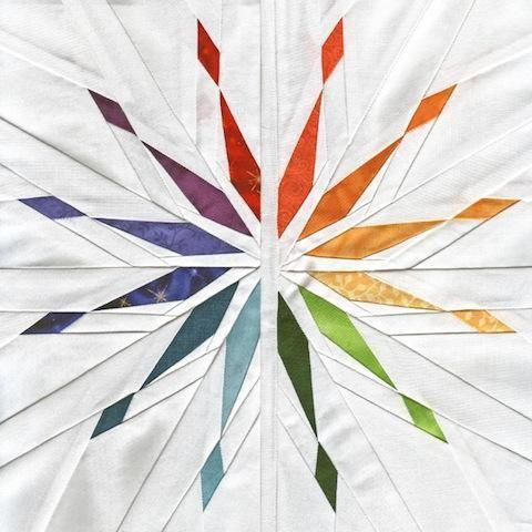 Whims and Fancies Starlight Diverging Quilt Block - PDF Pattern ... : 10 inch quilt blocks free - Adamdwight.com