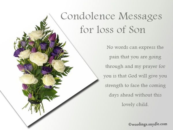 Sympathy Messages for Loss of a Child Wordings and ...