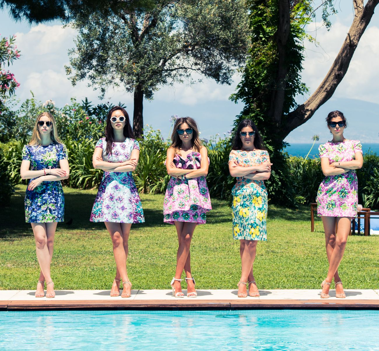 What, like your bridal party didn't wear all Mary Katrantzou? http://www.thecoveteur.com/erica-pelosini-wedding-capri/