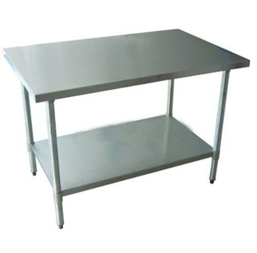 Restaurant Kitchen Work Tables new commercial stainless steel work prep table 30 x 36 nsf $119.50