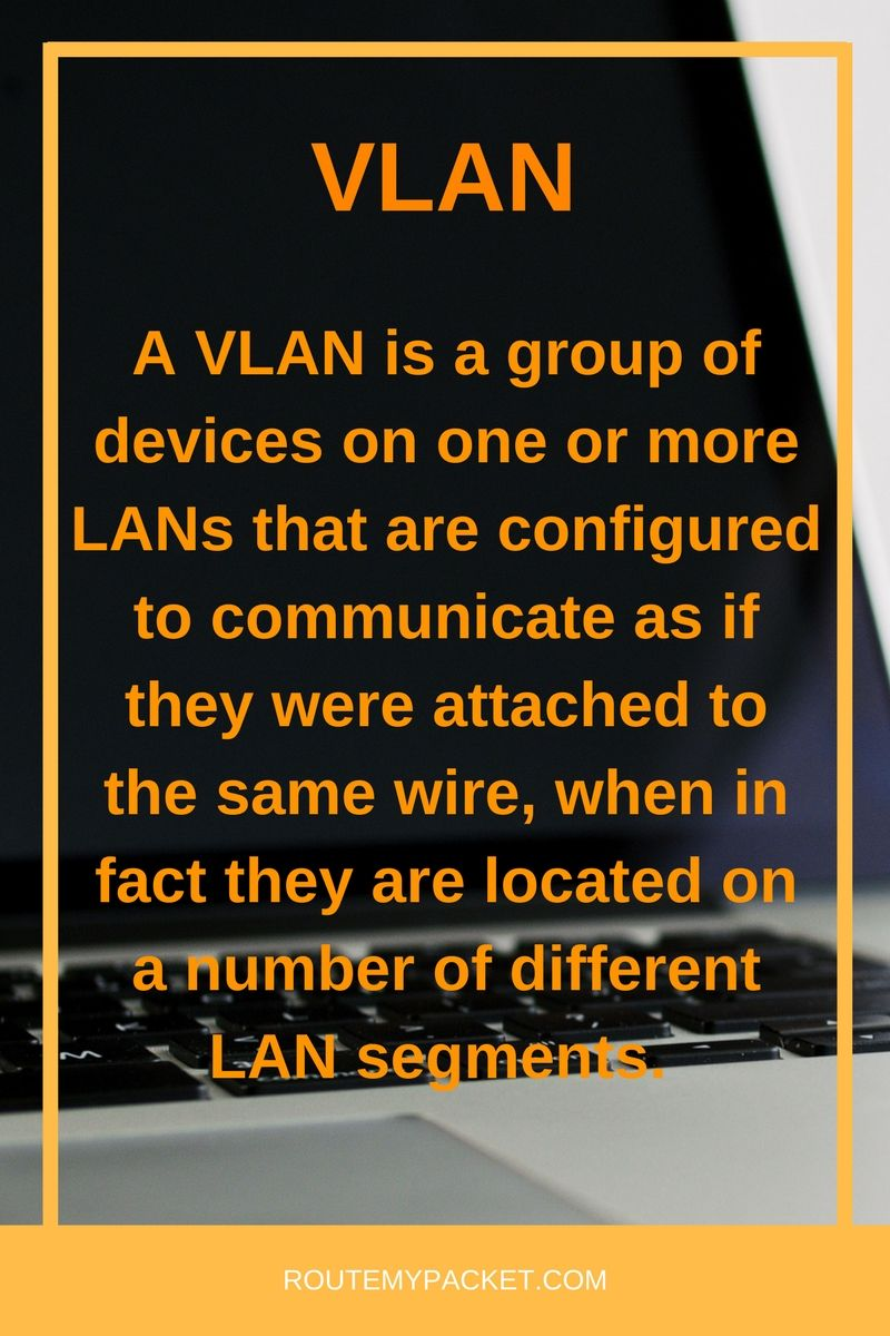 Basics About Vlan In Networking Learn More At Routemypacketcom See Basic Lan Wiring Diagram Also Computer
