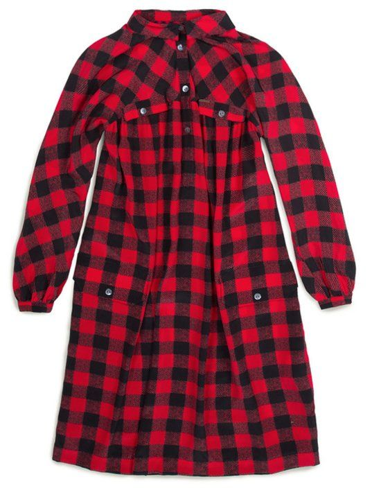 Woolrich Red Check Dress