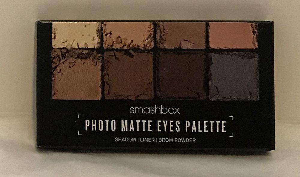 Smashbox Photo Matte Eyes Travel Palette Shadowlinerbrow Powder