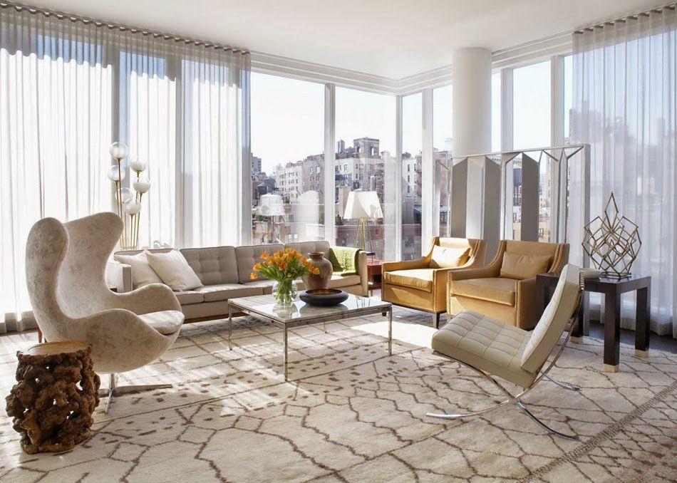 Soggiorni contemporanei • 100 idee e stile per un soggiorno ...