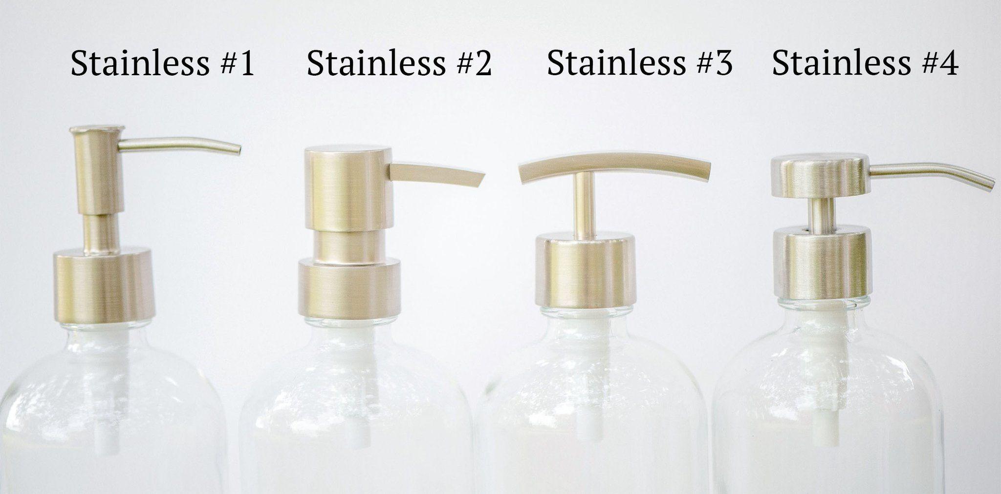 Stainless Replacement Pump Soap Dispenser Soap Pump Dispenser