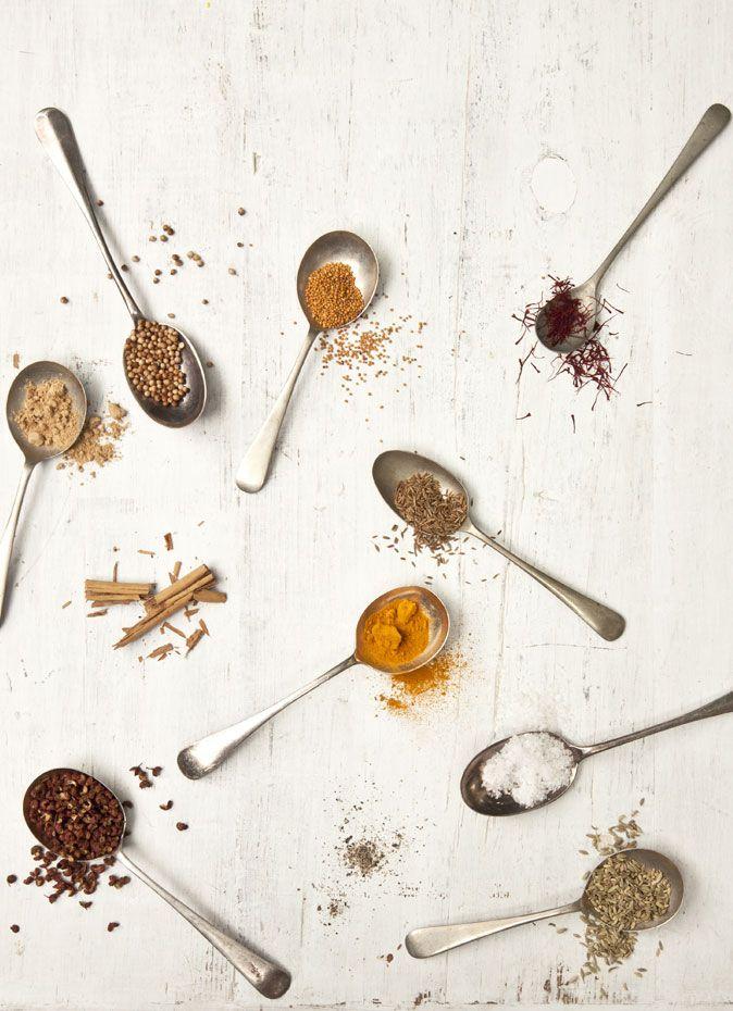 Especias: cucharadas de aromas inolvidables