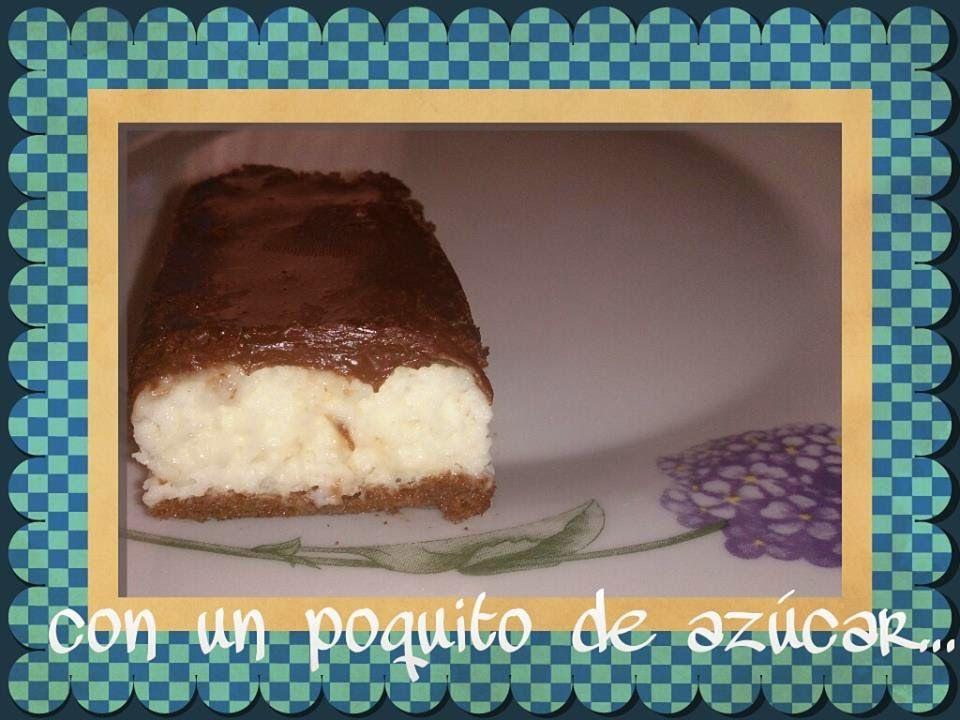 CON UN POQUITO DE AZÚCAR.....: TARTA MOUSSE DE LECHE CONDENSADA CON CAFE Y CHOCOLATE