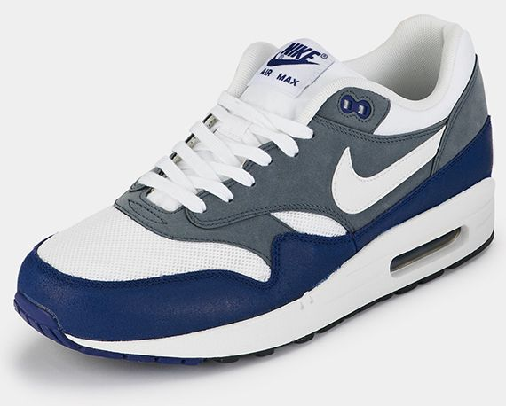 sale retailer 95105 0c17b Nike Air Max 1 Essential – Deep Royal Blue – Grey – White