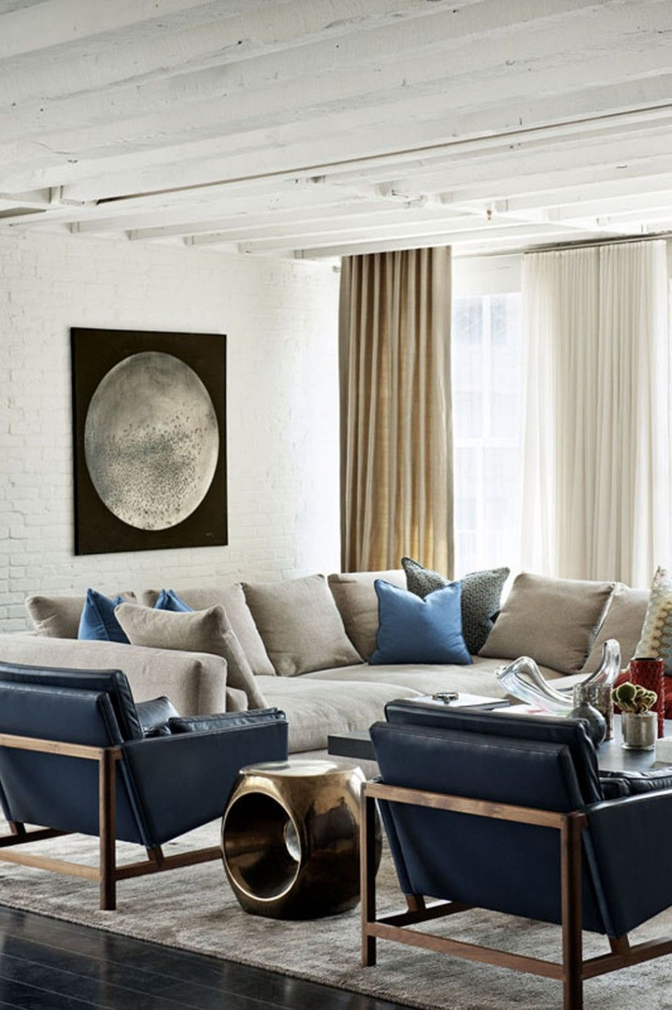 Apartments Bold Colors Tastefully Displayed by Laight Street Loft in ...
