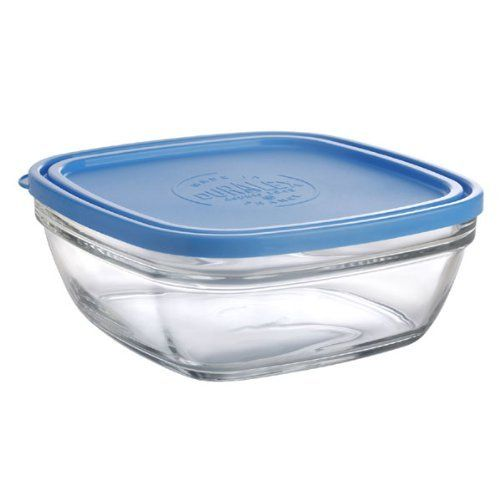 Duralex Lys 8 1 2 Cup Clear Square Storage Bowl With Lid By Duralex 16 99 Dishwasher Refrigerator And Microwave Safe Products M Duralex Storage Bowls Bowl