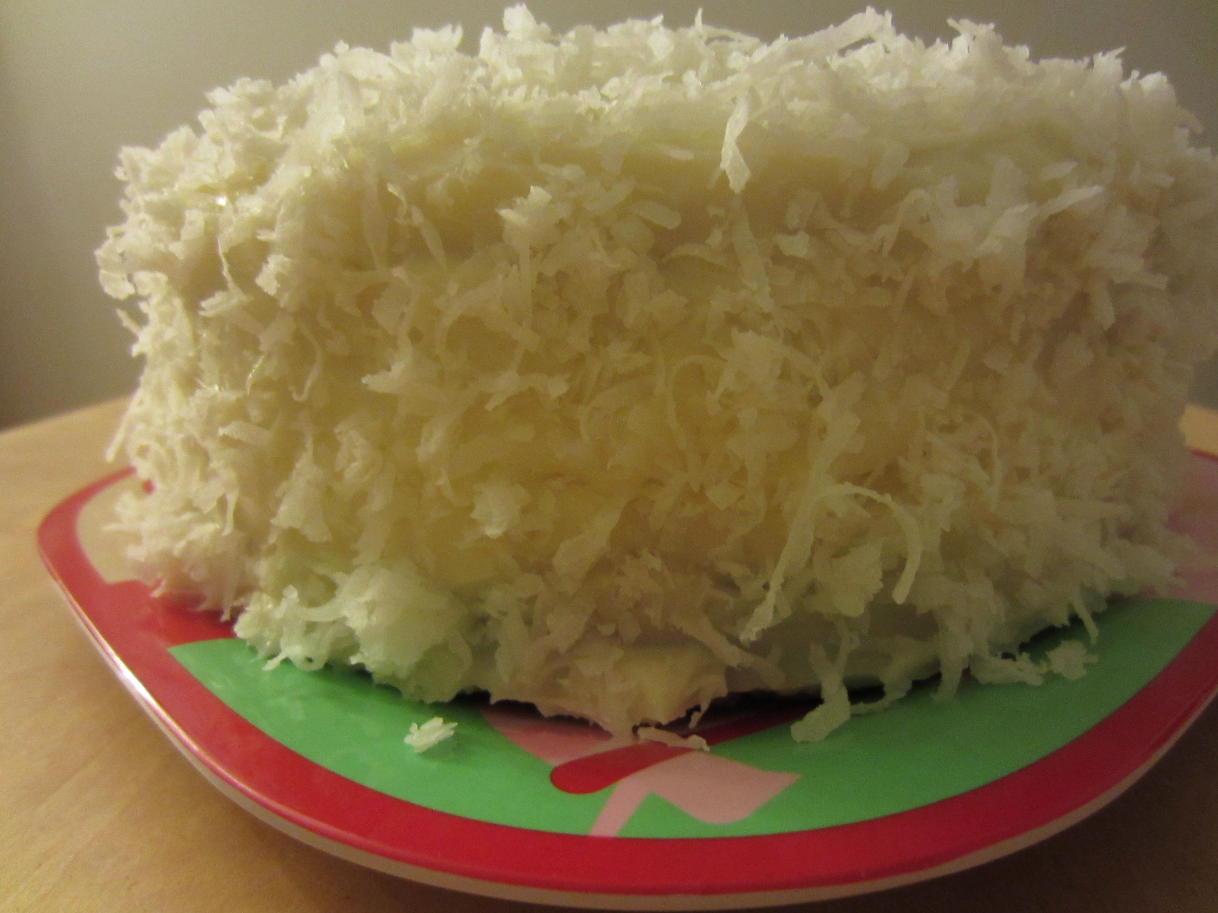Coconut Cake Adapted From Ina Garten Http Www Foodnetwork Com