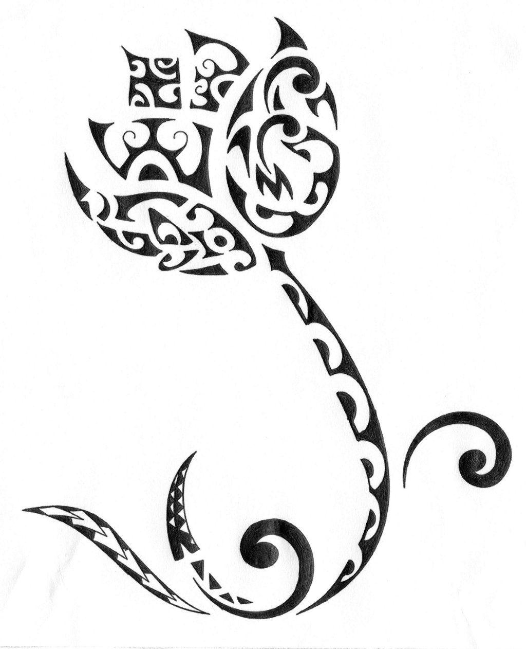 Polynesian Lotus Tattoo By Heavymetalsun On Deviantart