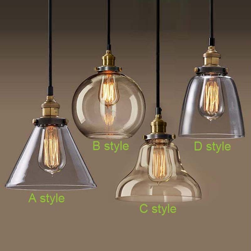 kitchen table light fixtures bowl. China Hanging Lamp Suppliers: Vintage Pendant Lights Antique Bowl Lamps Iron Glass For Kitchen Table Light Fixtures Home Lighting R