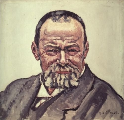 Self portrait - Ferdinand Hodler