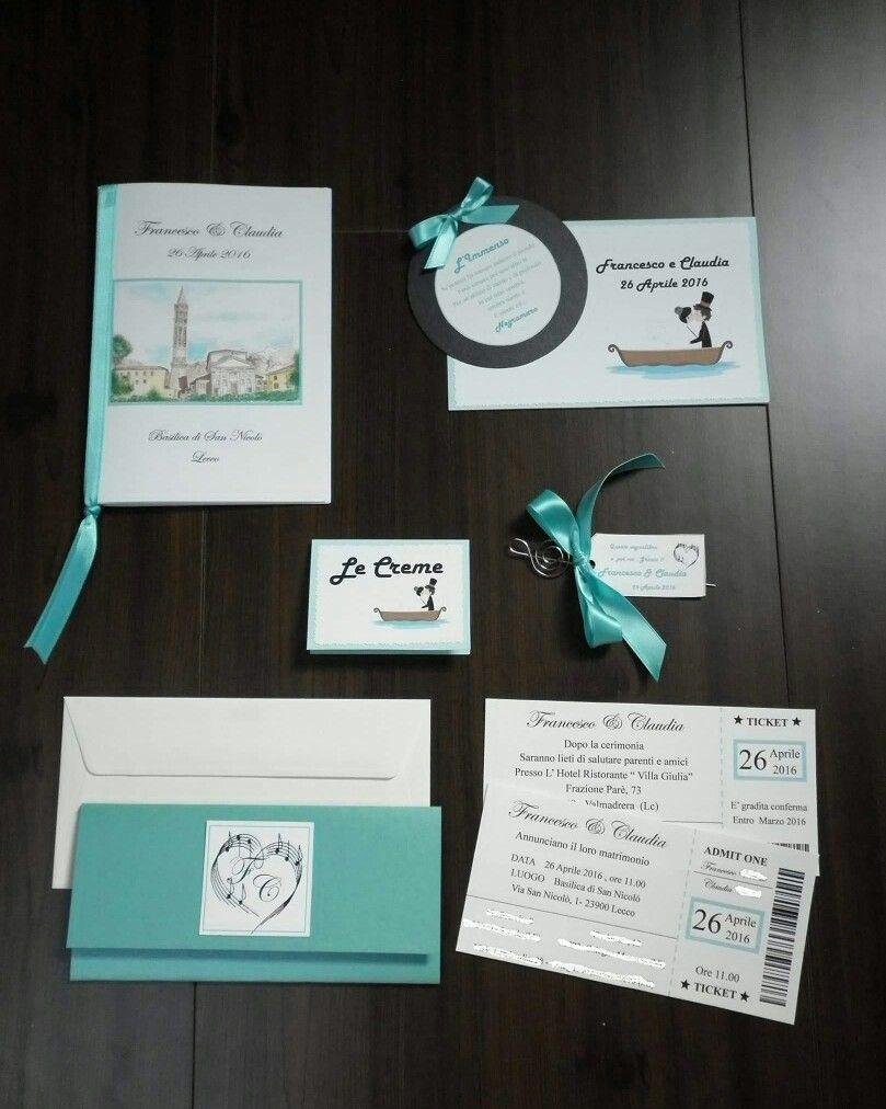 Partecipazioni Matrimonio Libretto Messa Segnaposto Segnatavoli Wedding Stationery Tiffany Musica No Matrimonio Tiffany Partecipazione Di Matrimonio Matrimonio