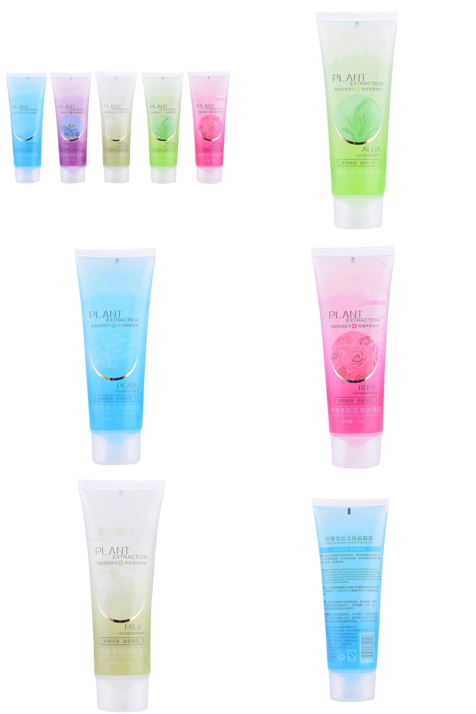 Exfoliating facial gel