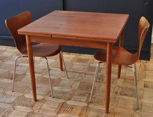 Danish Teak Expanding Leaf Dining Table U2013 Just A Modern Guy