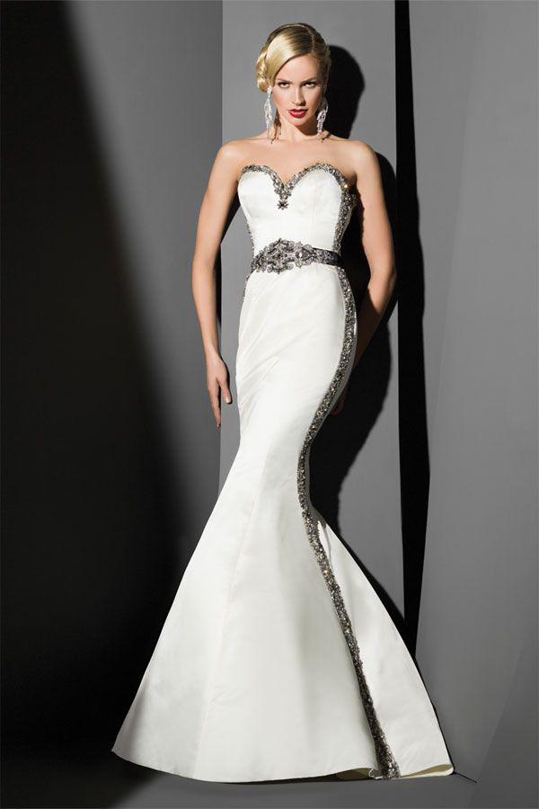 Find this Victor Harper Couture gown in all ivory at Bridal Boutique ...