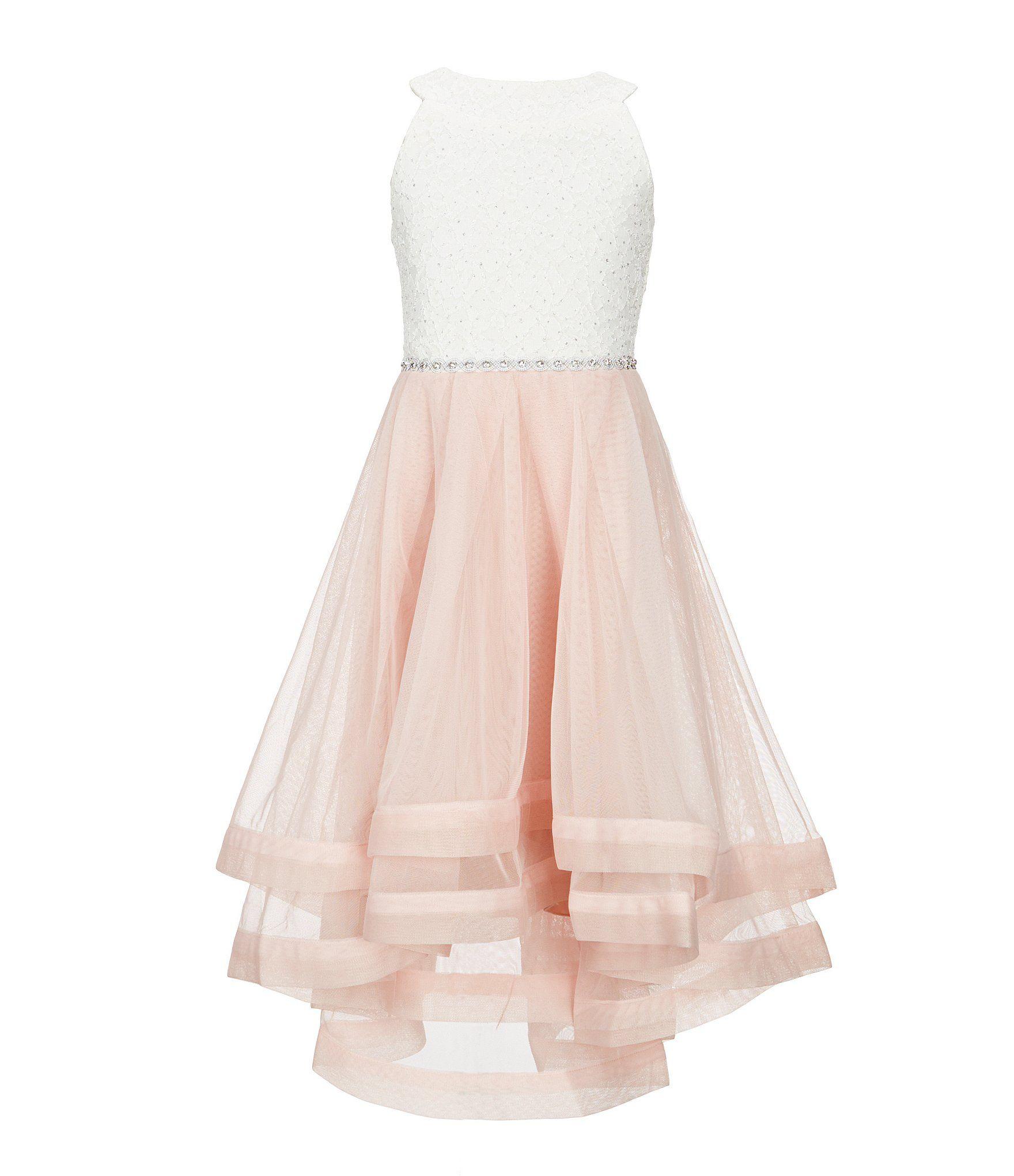9cb4a83f7d3d Shop for Xtraordinary Big Girls 7-16 Embellished-Waist Horsehair-Hem Dress  at Dillards.com. Visit Dillards.com to find clothing