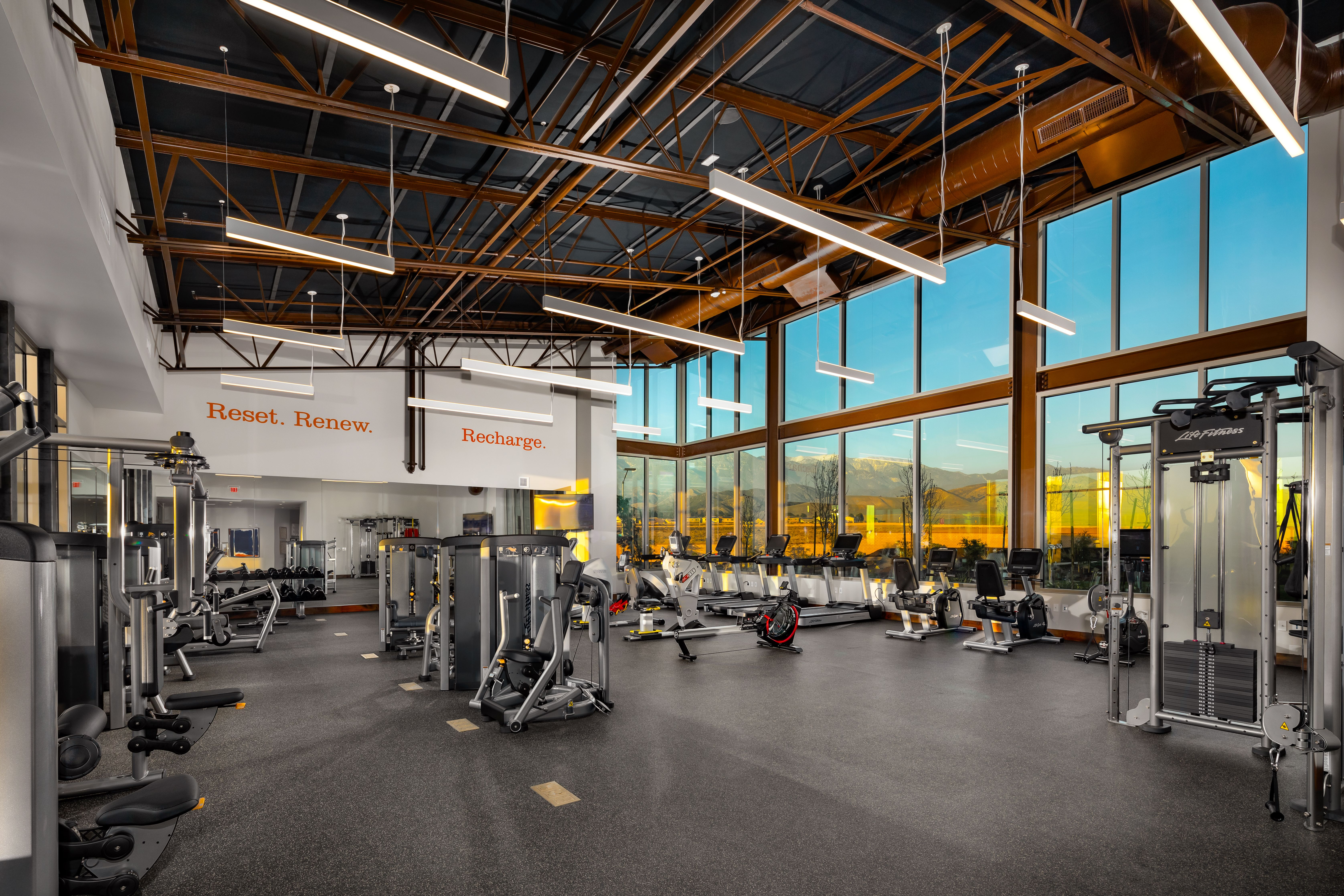 Fitness Trends Leading The Active Aging Marketplace Fitness Center Design Fitness Facilities Commercial Fitness