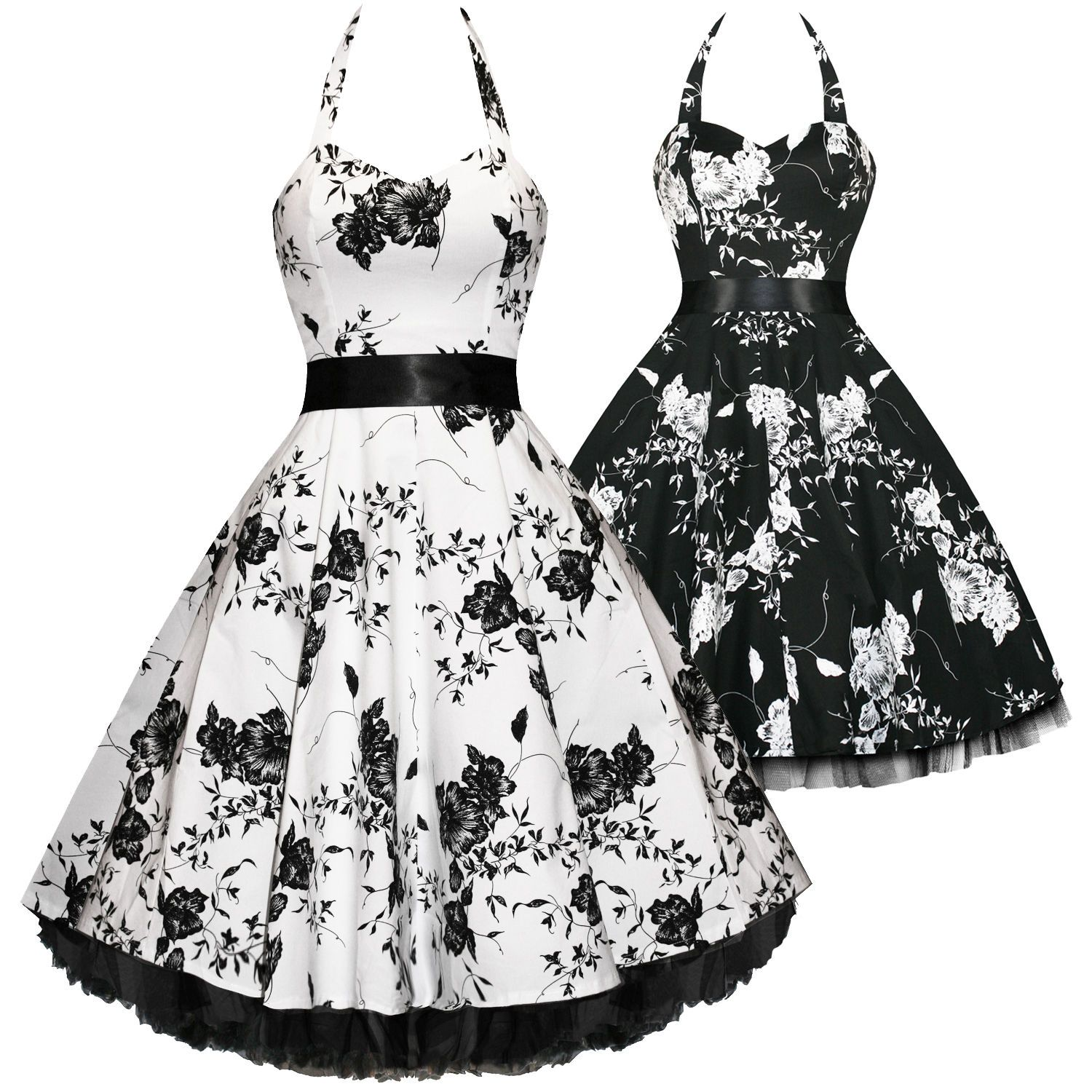 Hearts and roses london floral s rockabilly pinup party swing prom