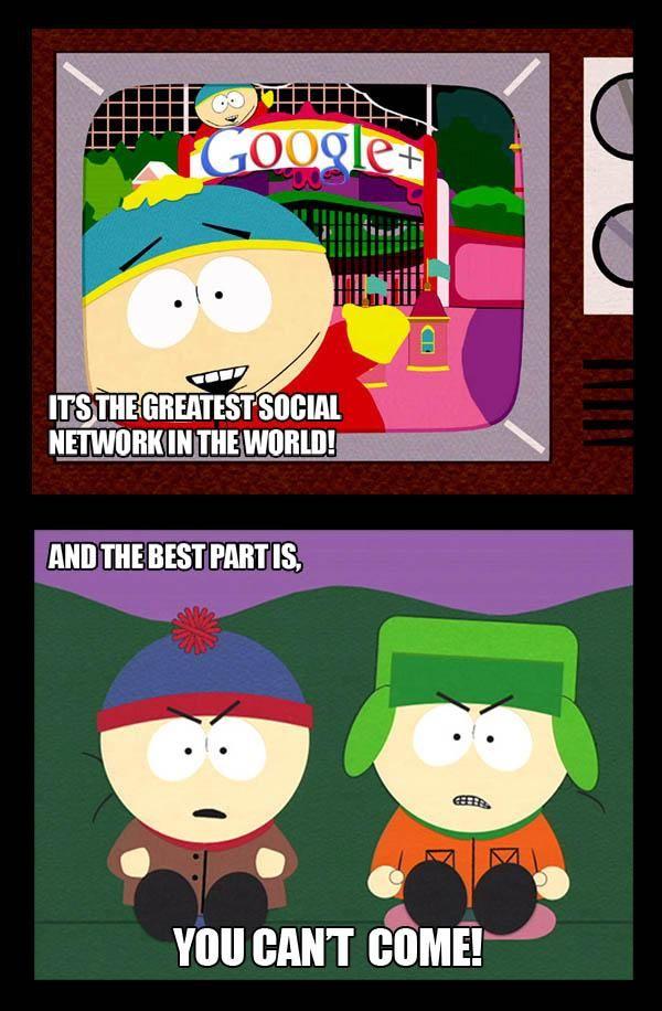 Google+ Memme | South park, South park memes, Cool animations