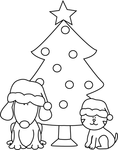 Clip Art Black And White Christmas Dog Honey Bee Drawing Elephant Coloring Page Bee Drawing