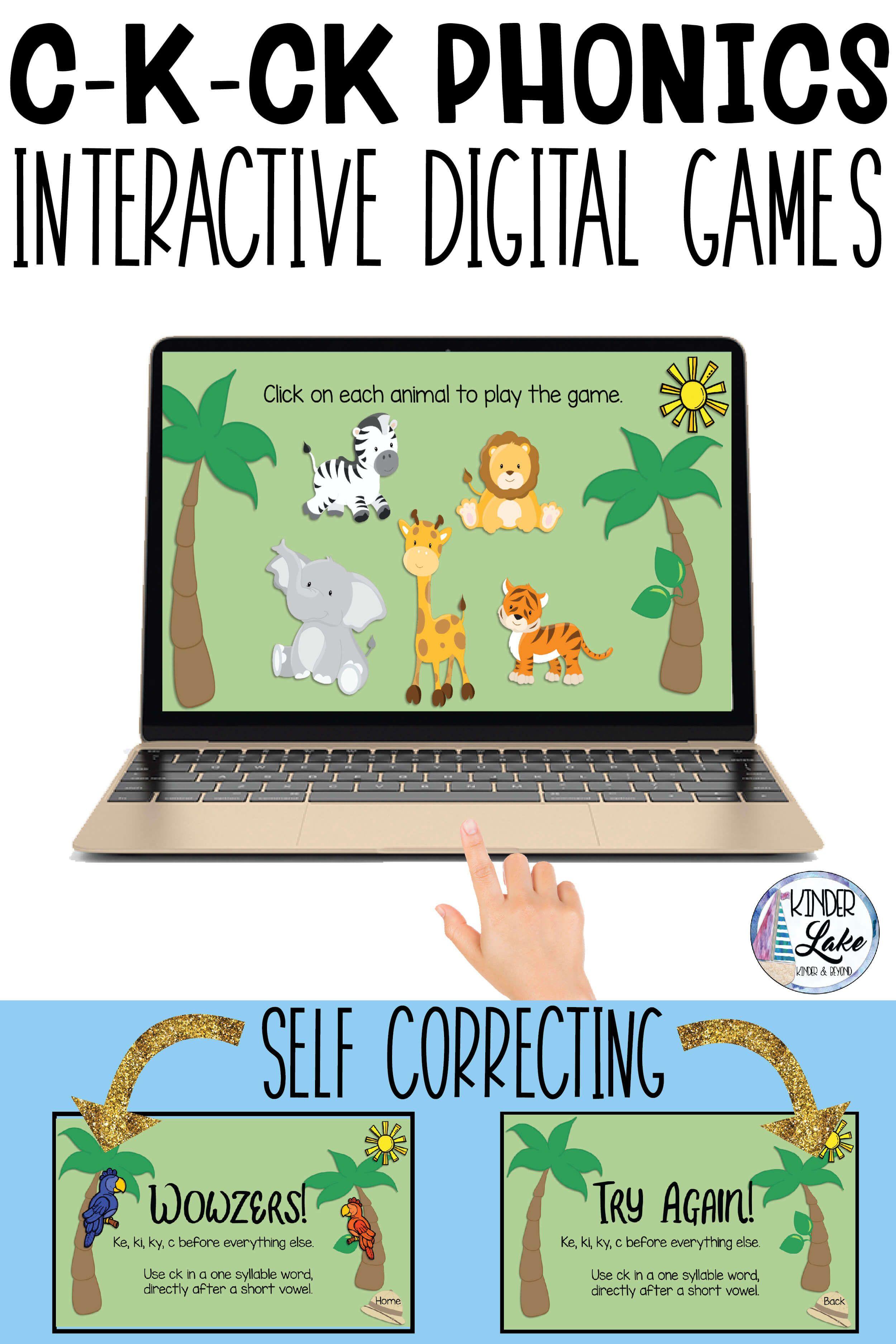 C K Ck Phonics Interactive Game