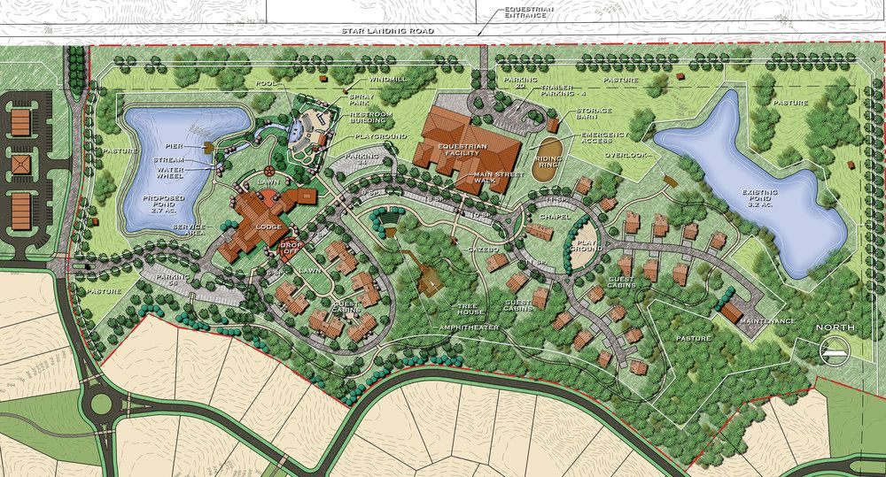 Ryanu0027s Ranch   Site Plan Graphics