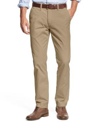 496c02b73 Tommy Hilfiger Big   Tall Men s Chino Pants - Tan Beige 48x30
