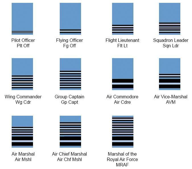 Raf ranks google search book pinterest air force military other branches such as the air force use separate badges to distinguish ranks the british airforce use coloured lining within the badge to determine the sciox Choice Image