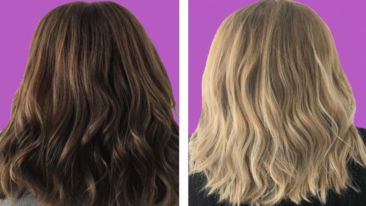 9 Moments That Basically Sum Up Your Baking Soda Lighten Hair Before After Experience How To Lighten Hair Hair Lightener Diy Bleached Hair