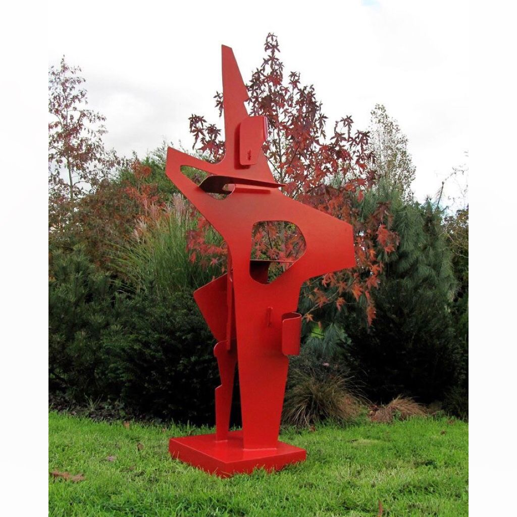 Incroyable Sculpture De Jardin #12: Sculpture De Jardin, Pièce Unique Par Mpcem Sculpteur
